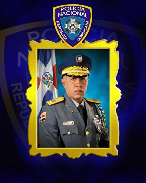 25-06-2013 al 03-08-2015 - Mayor General Manuel Elpidio Castro Castillo, P.N.