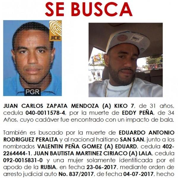Se Busca Juan Carlos Zapata Mendoza