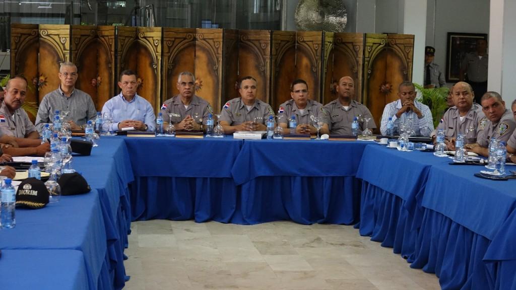 Reunión Policía Nacional