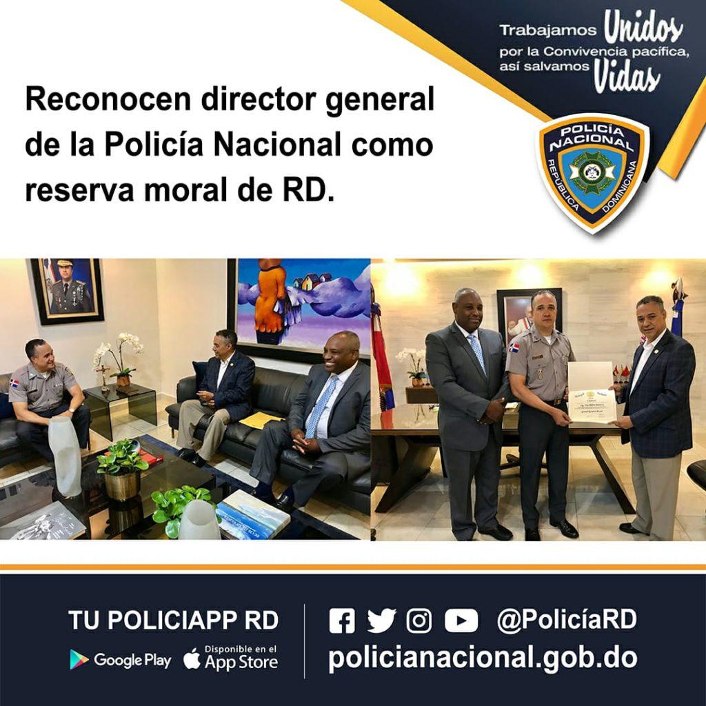 Reconocen Director General Polic U00eda Nacional Como Reserva