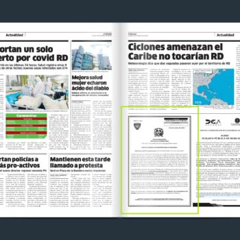 PUBLICACION EL NACIONAL 5 DE OCTUBRE LPN-2020-0004
